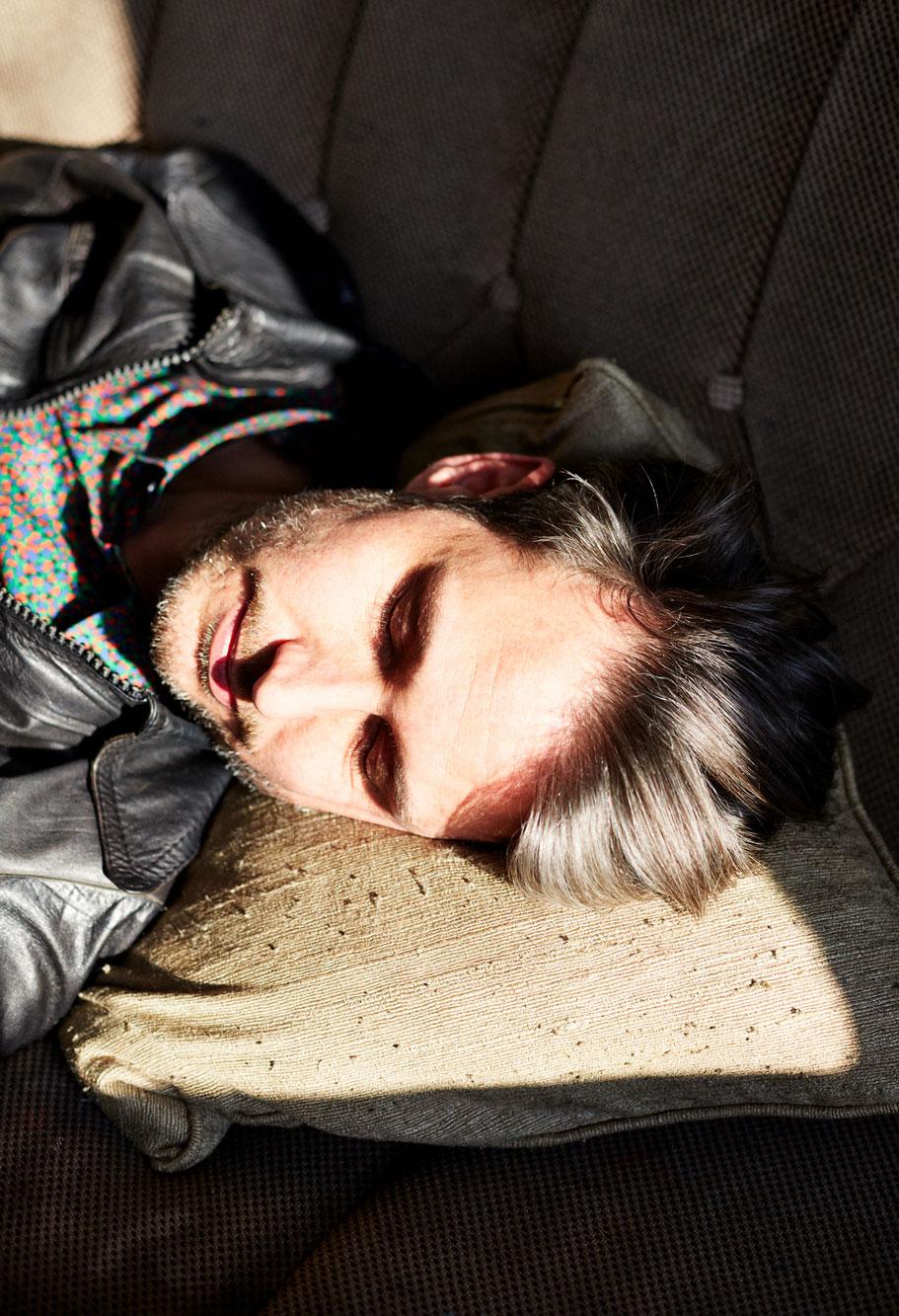 Dirk von Lowtzow, 2015 Portrait Patrick Desbrosses