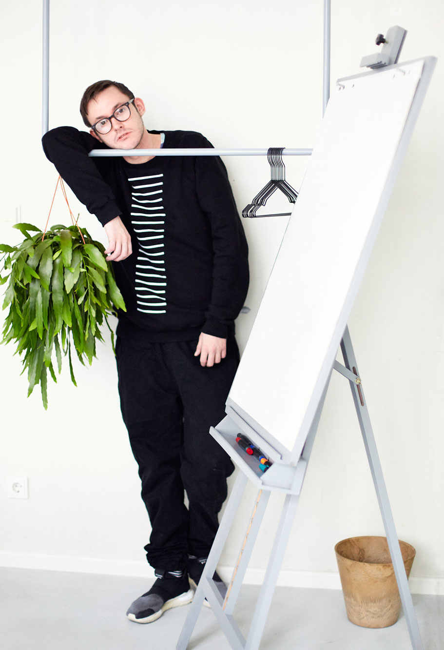 Hudson Mohawke, 2015 Portrait Patrick Desbrosses
