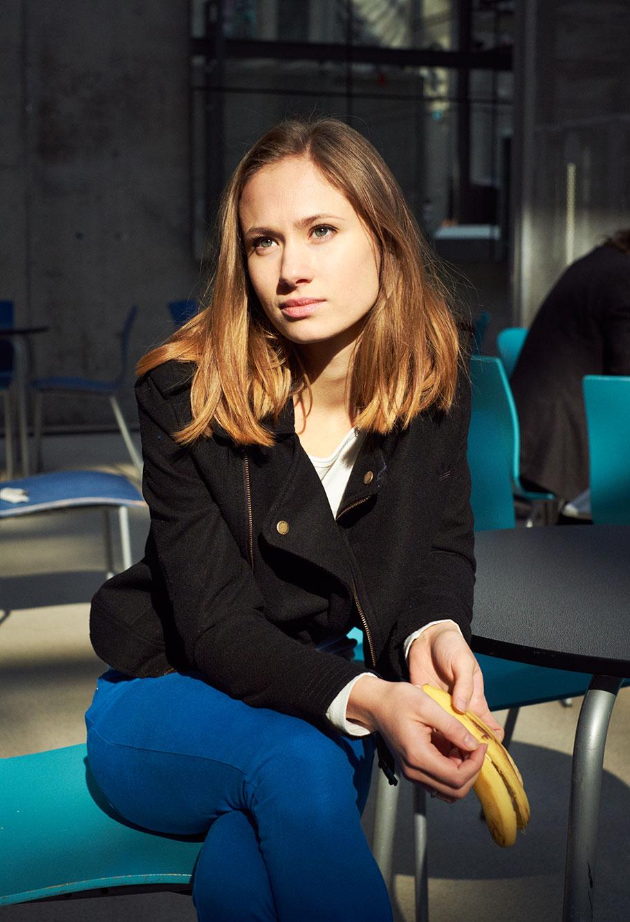 Alina Levshin, 2014 Portrait Patrick Desbrosses