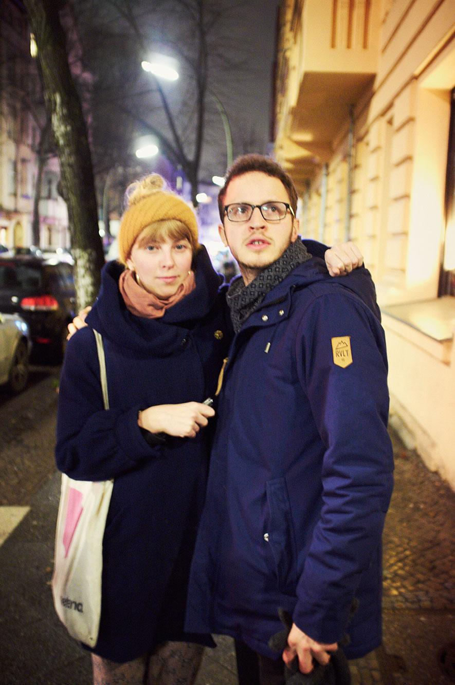 Fabienne & Simon, 2012 Portrait Patrick Desbrosses