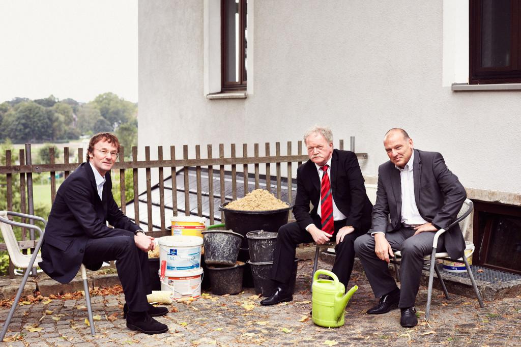 C Müller, W. Neubert & L. Lässig, 2013 Portrait Patrick Desbrosses