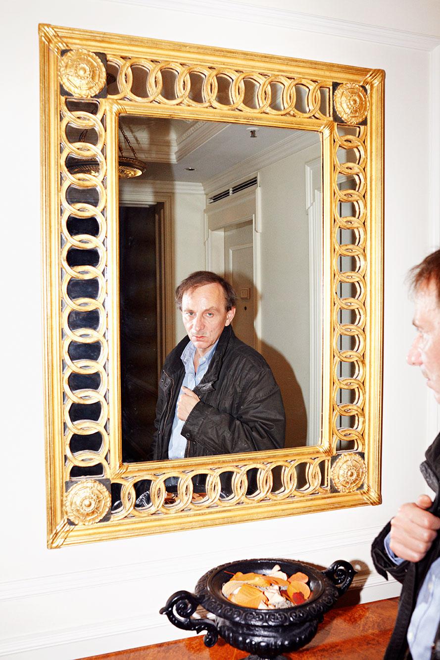 Michel Houellebecq, 2011 Portrait Patrick Desbrosses