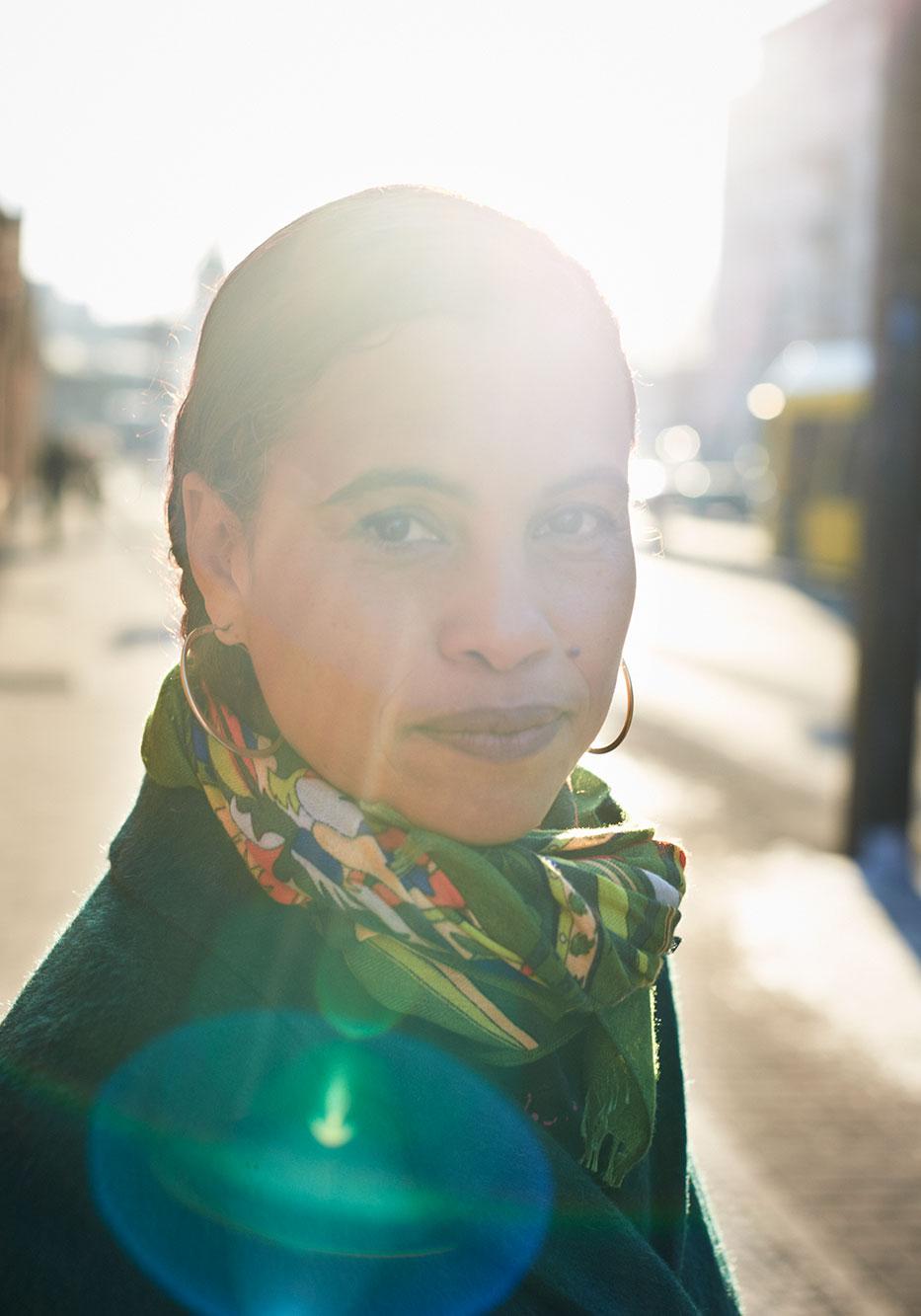 Neneh Cherry, 2014 Portrait Patrick Desbrosses