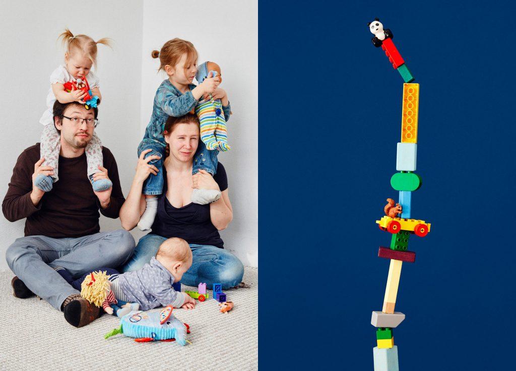 Family Portraits, DIE ZEIT Editorial Patrick Desbrosses