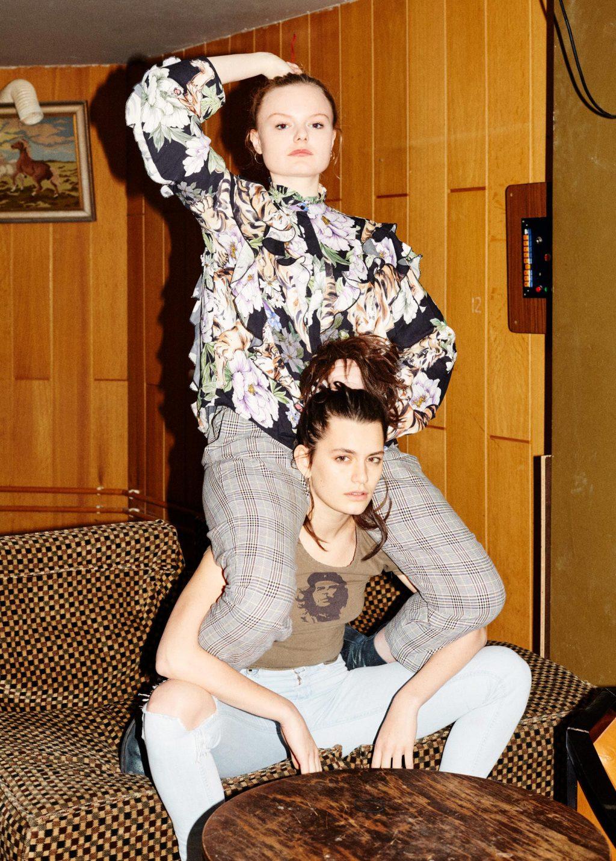 Maria Dragus & Ella Rumpf Portraits Patrick Desbrosses