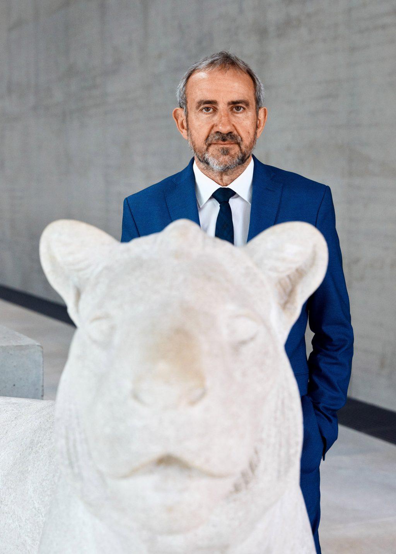 Prof. Hermann Parzinger Portraits Patrick Desbrosses