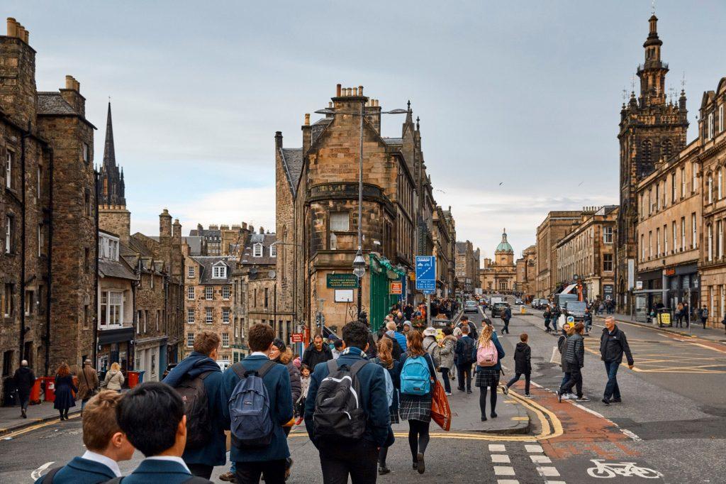 Edinburgh, UK, Sense of Home Magazine Travel Patrick Desbrosses